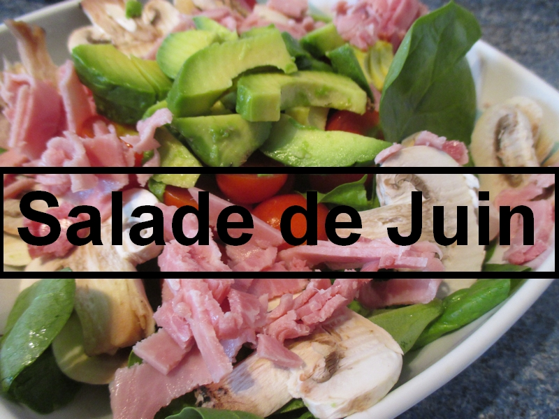 Salade compos d 39 t musculation aesthetic lifestyle - Recette salade ete ...